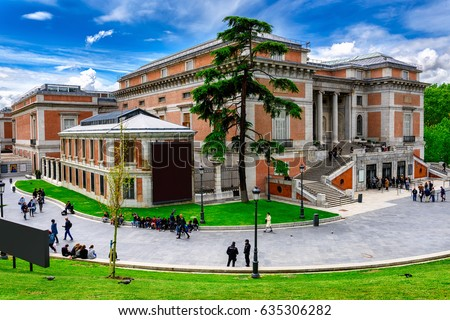 Shutterstock Building of Museo Nacional del Prado (Prado Museum)in Madrid, Spain. Prado Museum in Madrid is the main Spanish national art museum. Architecture and landmark of Madrid