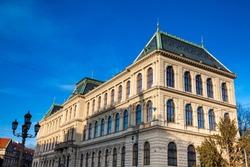 Building of Museum of Decorative Art in Prague