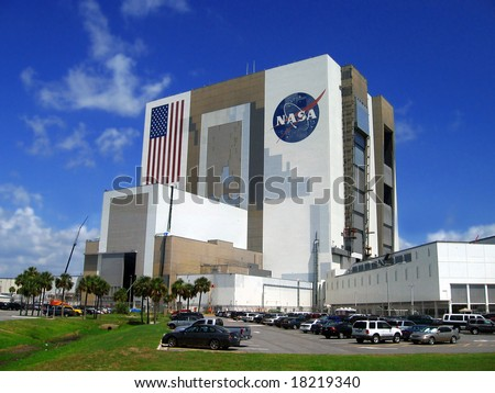 building of Nasa,Kennedy space centre, Florida, USA