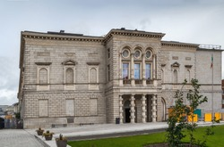Building of National Gallery of Ireland, Dublin, Ireland