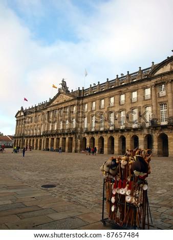 building of the Parliament of Galicia in Santiago de Compostela