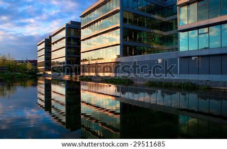 building office park
