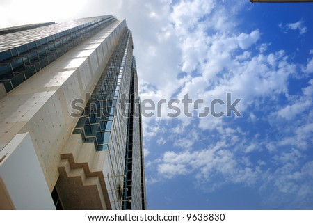 building with clouds #9638830