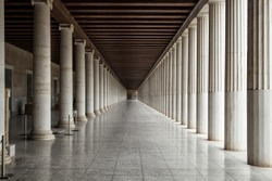Building with many columns