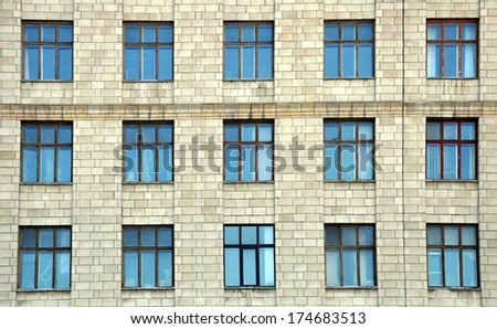 building with windows #174683513