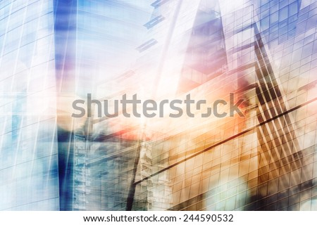 Buildings abstract background