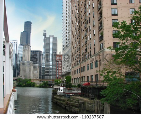 Buildings and Modern Skyscrapers - Chicago