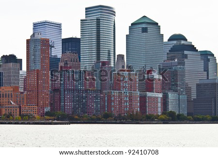 buildings and skyscrapers of New York City