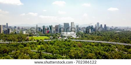 Buildings - Flag - Mexico