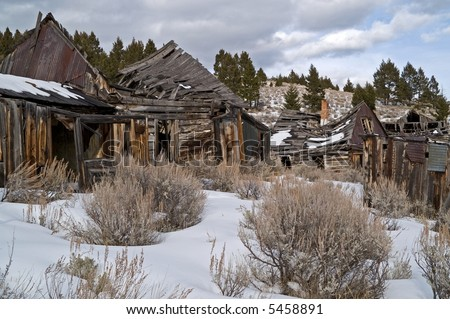 Abandoned Western Towns http://www.shutterstock.com/pic-5458891/stock-photo-buildings-from-a-long-abandoned-ghost-town-in-the-western-usa.html