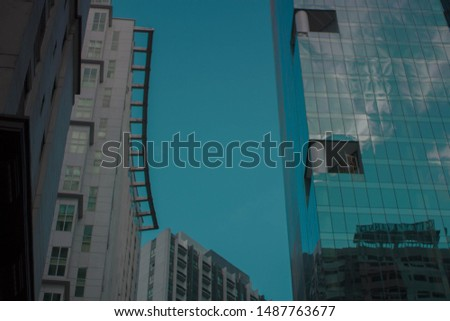 Buildings located at Ortigas Avue Stok fotoğraf ©