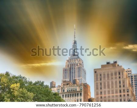 Buildings of Midtown Manhattan. #790761256