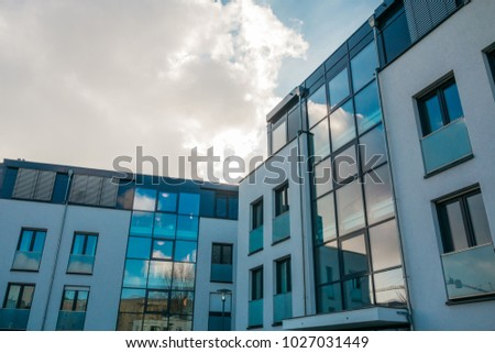 buildings with big glass staircase