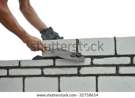 Builds wall