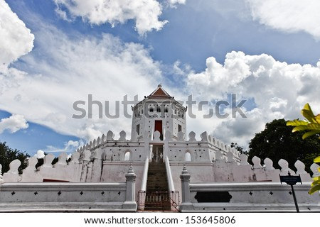 Built in 1783, the Phra Sumen Fort is an imposing structure and one of the many forts built by King Rama I