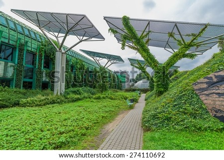Built Structure, Green, Office.