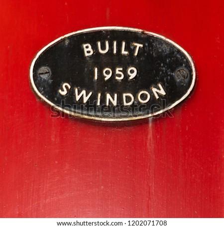 Built Swindon 1959 sign