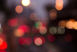 Bukeh background light