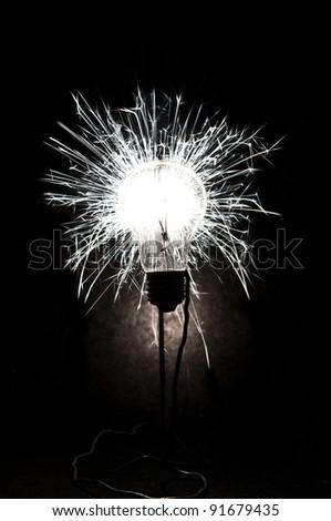 bulb and idea