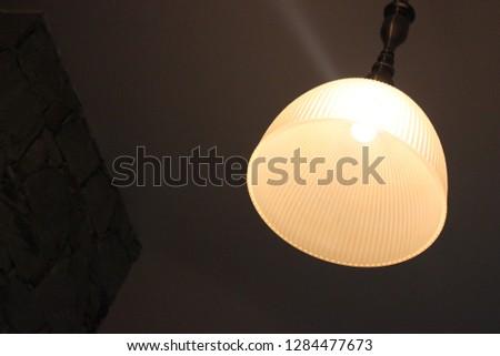 bulb decore home #1284477673