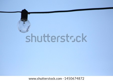Bulb on a wire for quotes #1450674872