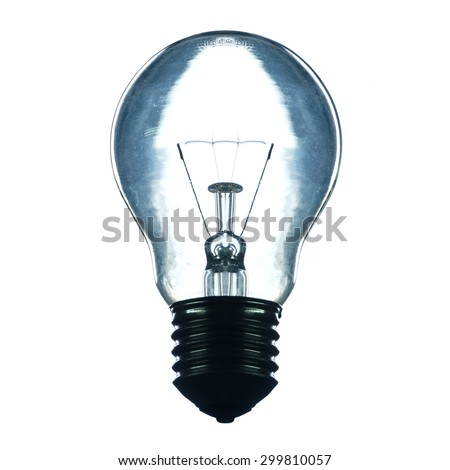 Bulb silhouette photographic style #299810057