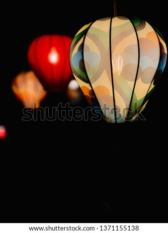 Bulbs with retro patterns #1371155138