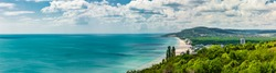 Bulgarian Black Sea coast at Albena Beach