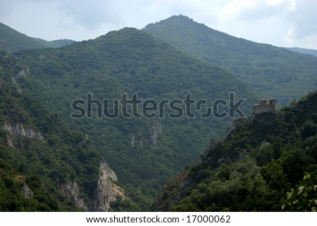 Bulgarian high place monastery