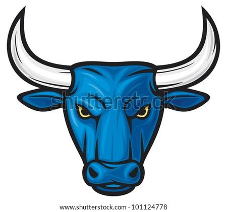 bull head (blue bull)