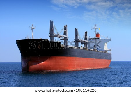 Bullcarrier anchored