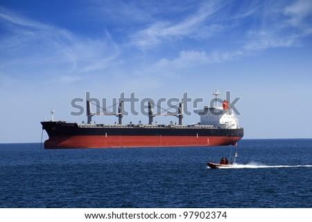 Bullcarrier anchored