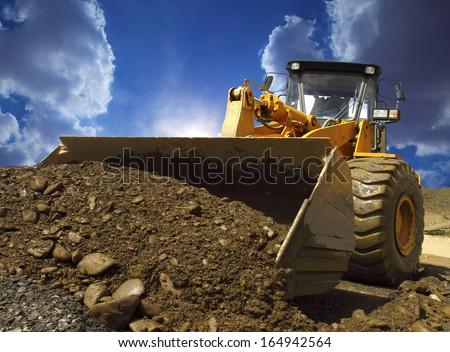 Bulldozer #164942564