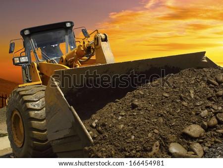 Bulldozer #166454981