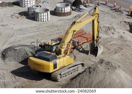 bulldozer at work
