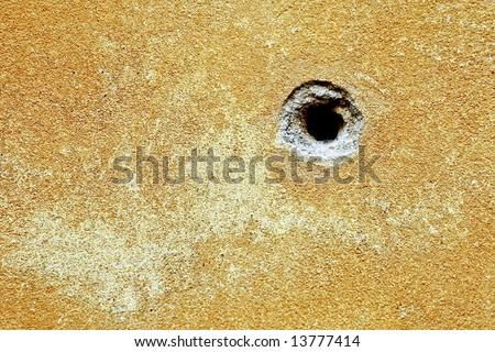 Bullet hole texture