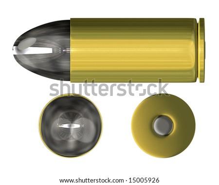 bullet orthogonal view (3D)