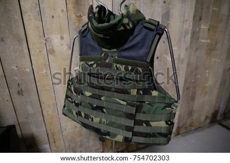 Bulletproof military vest Stock photo ©