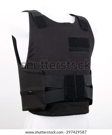 Bulletproof vest, body armor covers, Camouflage, black Stock photo ©