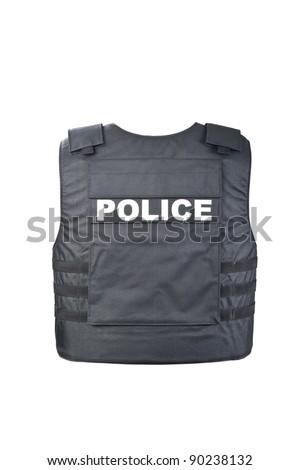 Bulletproof vest from behind Stock photo ©