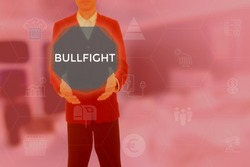 BULLFIGHT - technology and business concept