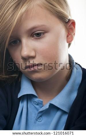 Bullied school girl