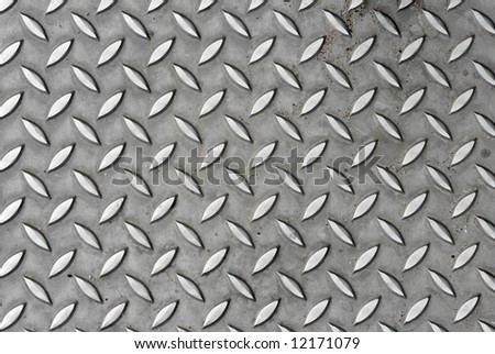 Bumpy metal pattern
