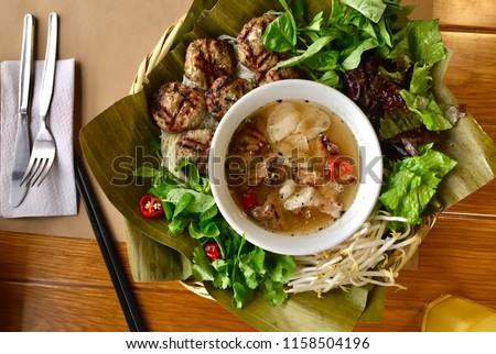 Bun Cha - Vietnam food