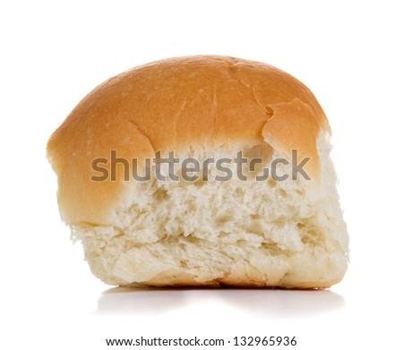 Bun isolated on white background