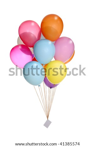 bunch of colorful balloons flying in the air