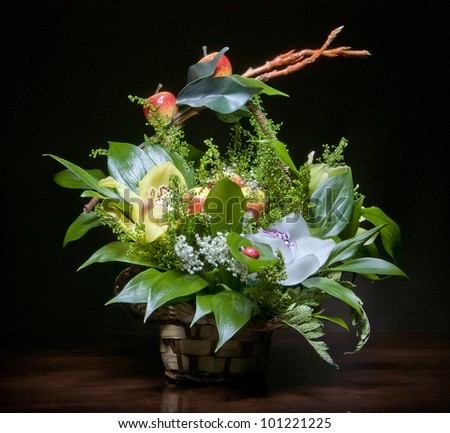 bunch of flowers for design and decorate