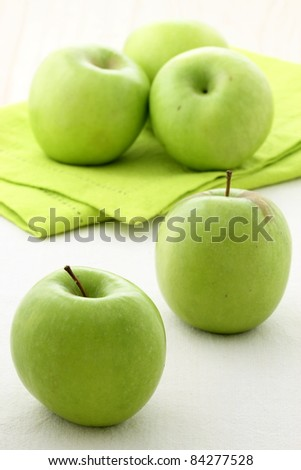 bunch of fresh healthy and delicious organic apples