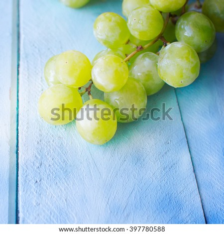 Bunch of green grapes #397780588