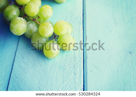 Bunch of green grapes #530284324